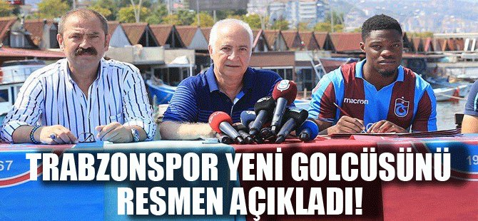 TRABZONSPOR YENİ GOLCÜSÜNÜ RESMEN AÇIKLADI!
