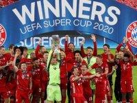 UEFA SÜPER KUPA'NIN SAHİBİ BAYERN MÜNİH