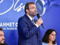 "BAŞKAN AHMET CİN :""HEDEF GÖSTERDİ"