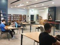 Ümraniye'de Avm kütüphanesi kapılarını yeniden açtı